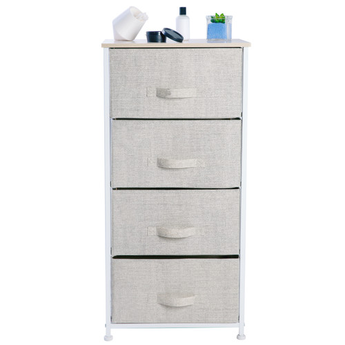 4 DRAWER FOLDABLE STORAGE CHEST