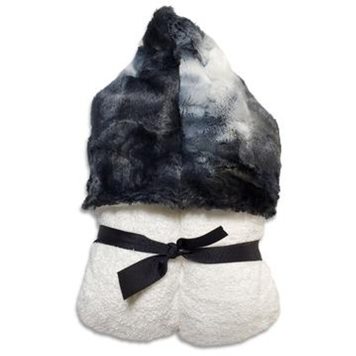 SORBET BLACKBERRY HOODED TOWEL