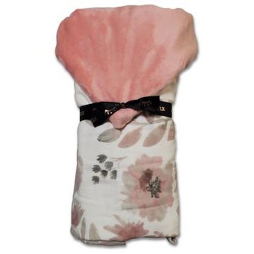 MOD FLORAL BABY HOOD TOWEL