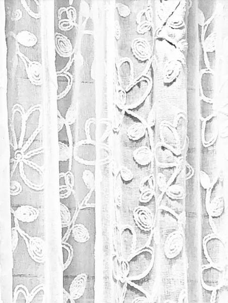 RITA FLOWER SHOWER CURTAIN
