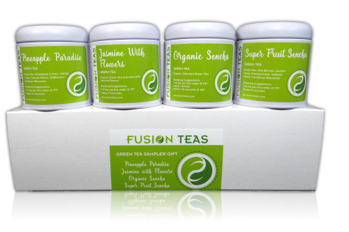Green Tea Sampler Gift Box