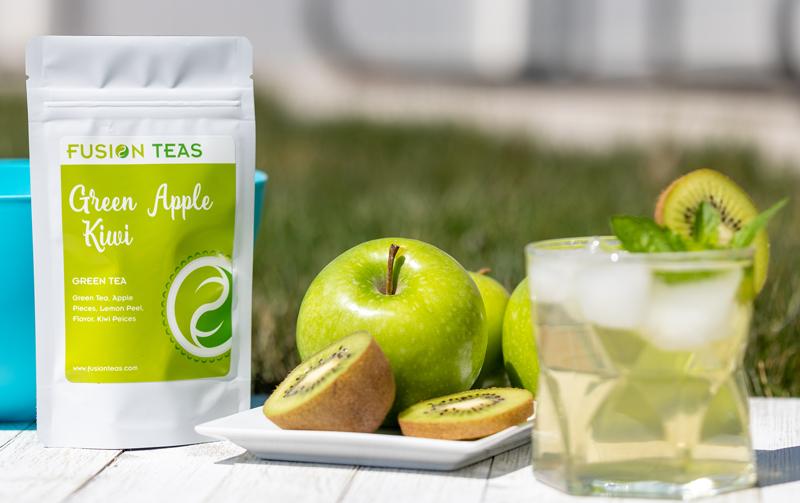 Apple Kiwi Green Tea