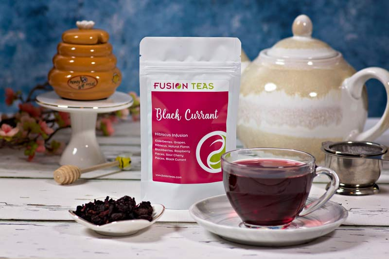 Black Currant Hibiscus Tea