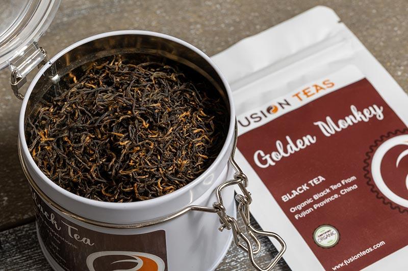 Chocolate Dipped Raspberries Black Tea