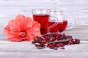 Hibiscus Tea Blossoms