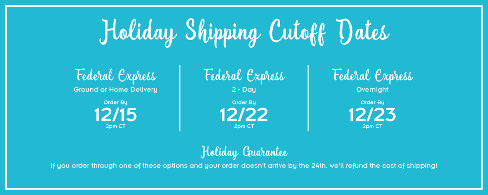 Holiday Shipping Graphic