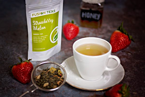 Strawberry Melon Tea