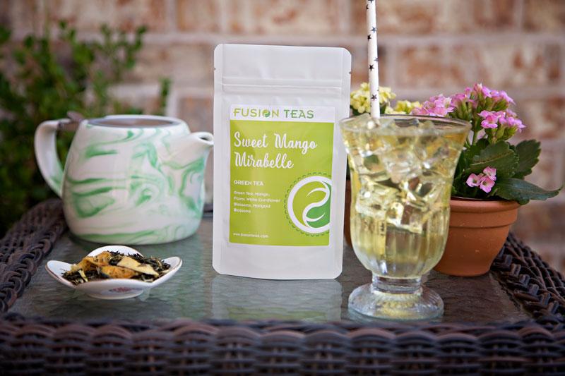 Sweet Mirabelle Green Tea