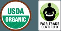 USDA Organic - Fair Trade Certified