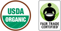 USDA Organic - Fair Trade Certified