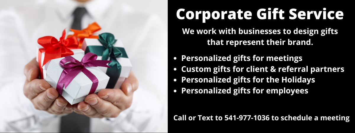 Corporate Gift Service - personalized gifts that represent your brand