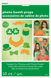 10 PHOTO PROPS - ST PATS