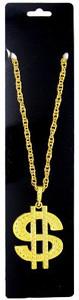Big Necklace (Gold Dollar Sign)
