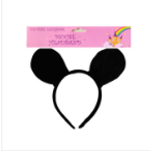 *MOUSE EAR HEADBAND