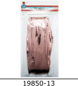 Metallic Curtain (Rose Gold)