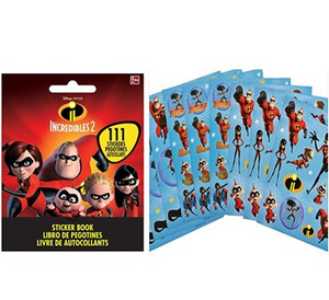 Incredibles 2 Sticker Booklet