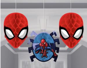 Spider-Man WW Hcomb Deco - Tis