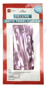 Matte Tinsel Curtain (Rose Gold)