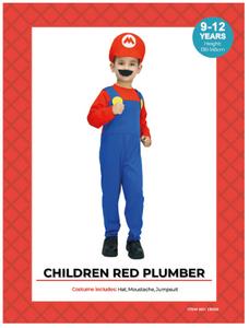 Children Mario Costume (A0047)