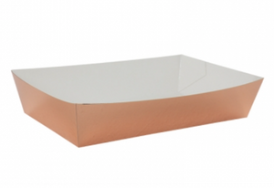 FS Lunch Tray Metallic Rose Gold 10pk