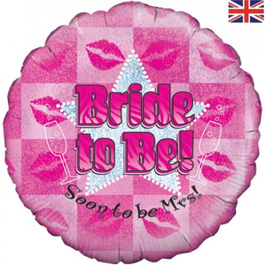 """FBAL.18"""" BRIDE TO BE"""