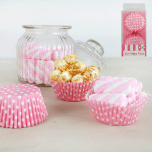 * 50pk Patty Pans - Pink
