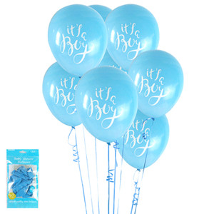 *6pk Baby Shower in Blue Balloons