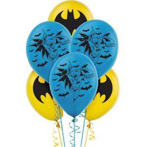 Batman Latex Balloons 30cm
