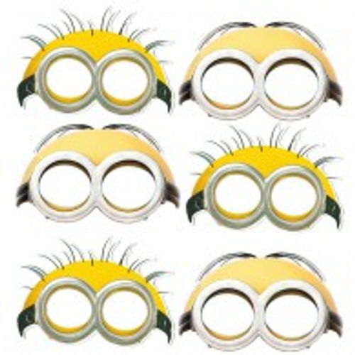 Minions Masks Assorted Designs