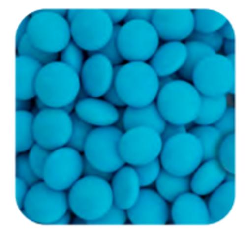 Choc Buttons Blue 1kg