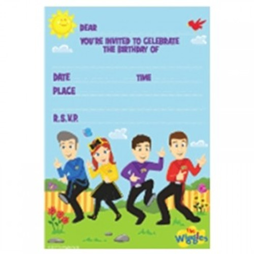 The Wiggles Invitations You're Invited