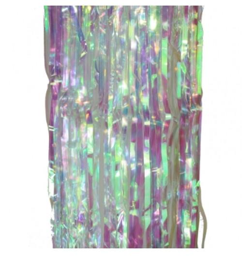 Metallic Curtain (Silver)