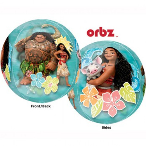 Shape Orbz Moana See Thru 2 Sided Design