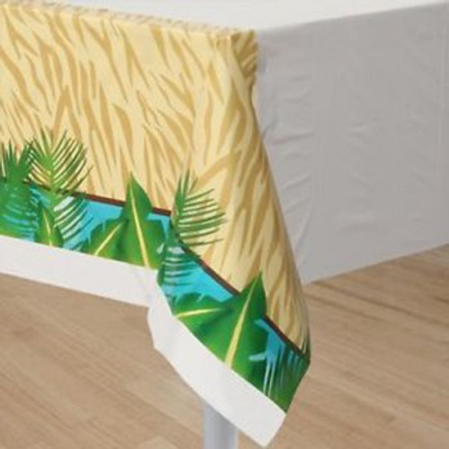 Safari Adventure Tablecover Plastic