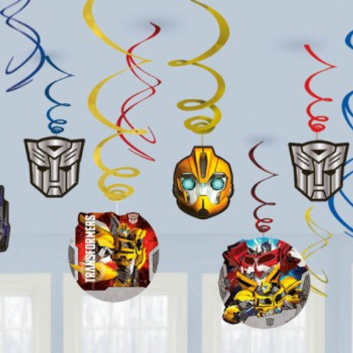 Transformers Swirl Decorations Value Pac