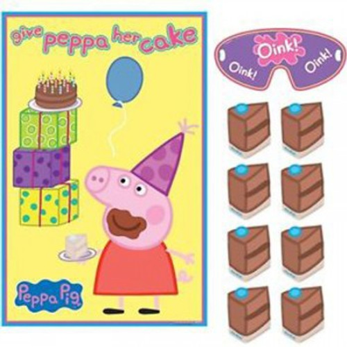 Peppa Pig Party Game Give Peppa her Cake