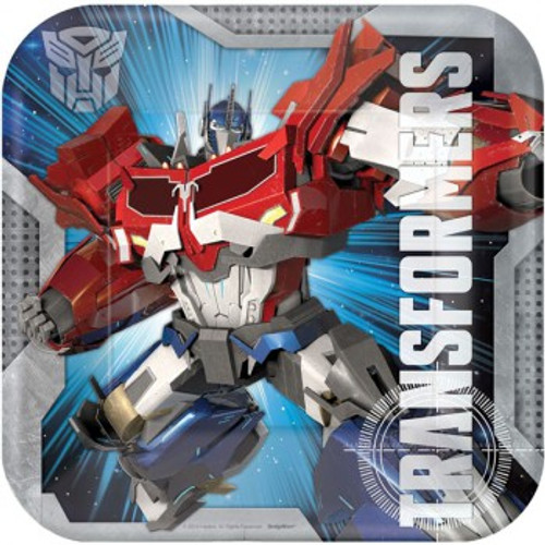Transformers Dinner Plates Square