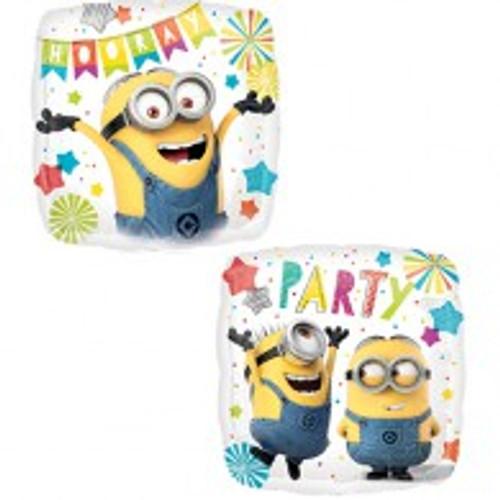 45cm Minions Party Hooray