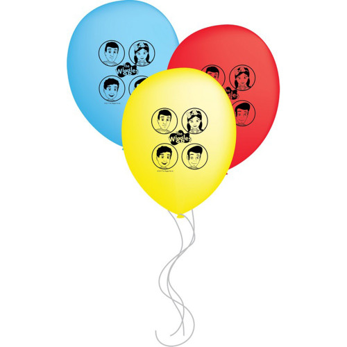 """The Wiggles 12"""" Latex Balloons"""