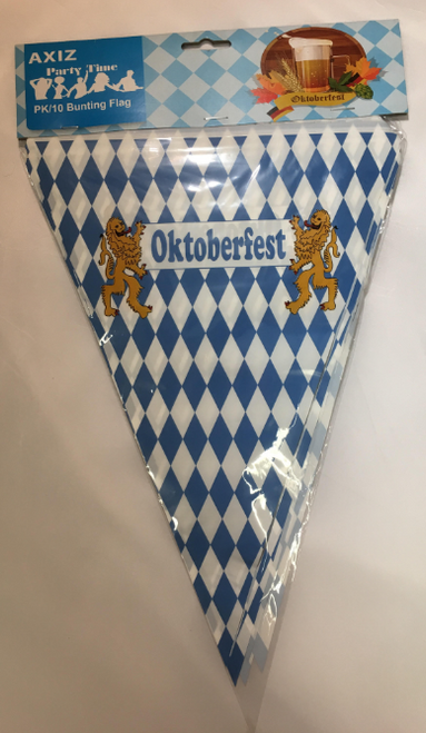 Oktoberfest Bunting Flag
