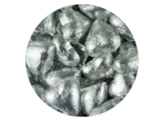 Silver Chocolate Hearts 1kg