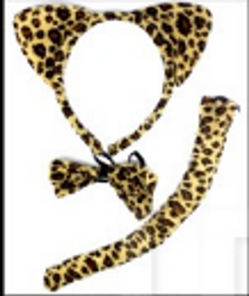 Animal 3pcs Set (Leopard)