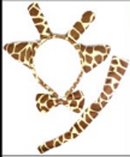 Animal 3pcs Set (Giraffe)