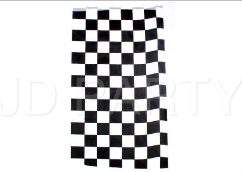 Checkered Bunting Flag (Rectangle) 10pcs