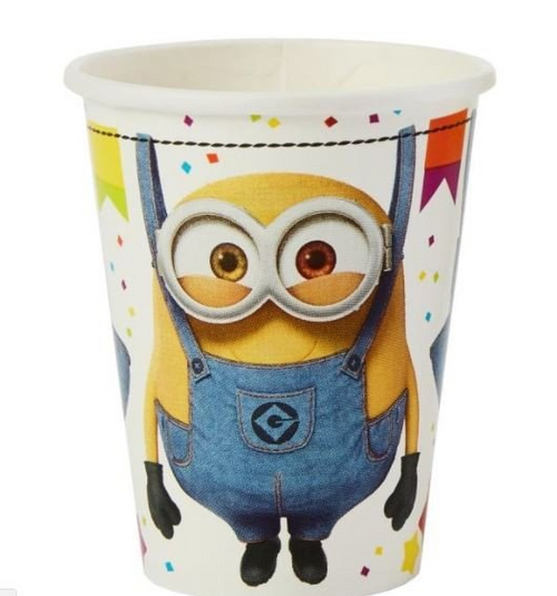 Despicable Me 3 9oz/266ml Cups