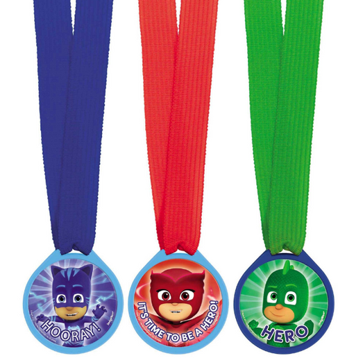 PJ Masks Mini Award Medals Fav