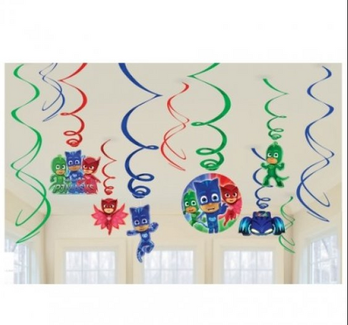 PJ Masks Swirl Decoration
