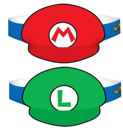 Super Mario Brothers Paper Hat