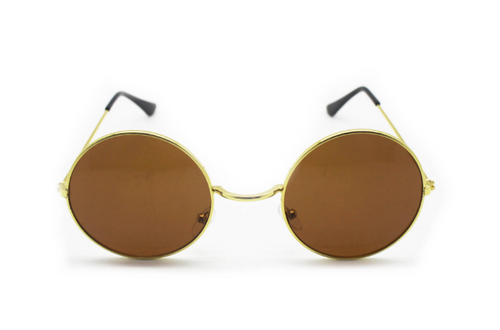 Party Glasses Hippie Brown