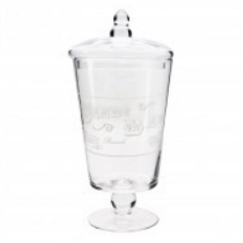 GlassCandyJarClassicChalice16x31cmH(6/6)
